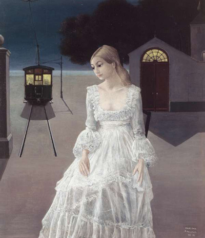 paul-delvaux-1976_robe_de_mariee