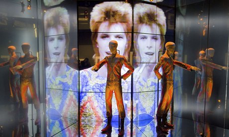 "David Bowie's ""Starman"" costume"