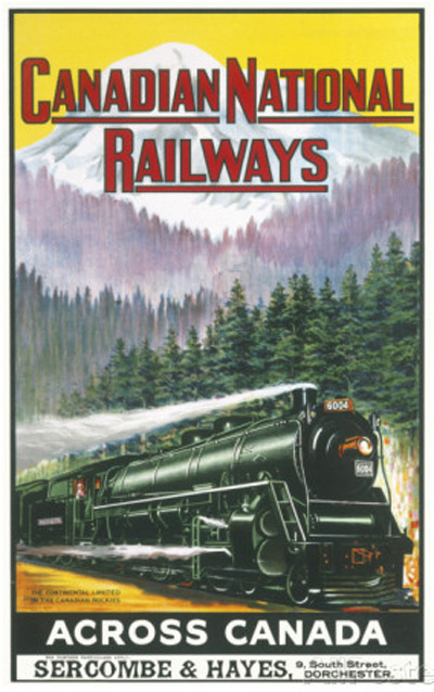 canadian-national-railways-poster-showing-a-steam-engine-train-in-canada