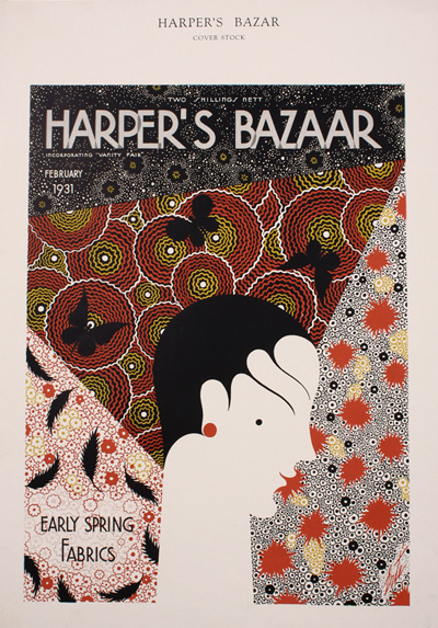 harpers erte feb.1931 printers proof